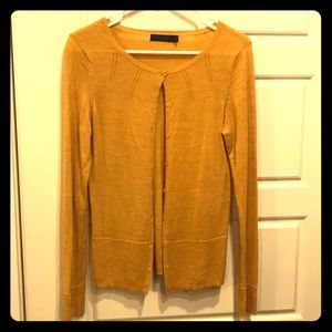 The Limited Mustard Cardigan, Size M